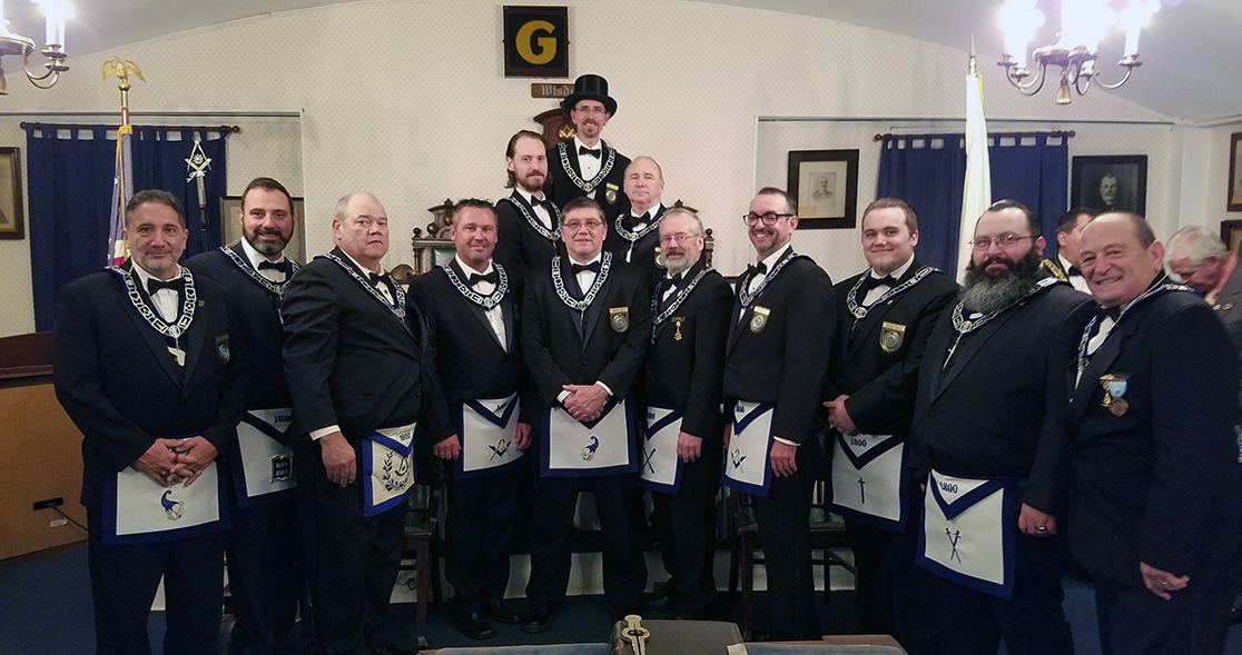 Frienship Lodge officers 2019